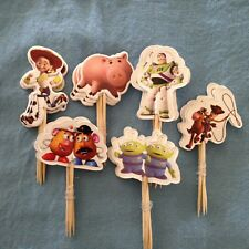 Cupcake Cake Toppers Toy Story  24pcs