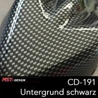 Wassertransferdruck Folie WTD WTP Carbon 2m x 50cm CD-191 Hydrographic silber