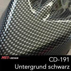 Wassertransferdruck Folie WTD WTP Carbon 2 m x 50 cm CD-191 Hydrographic silber