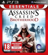 ASSASSIN'S CREED BROTHERHOOD ESSENTIALS JEU PS3 NEUF