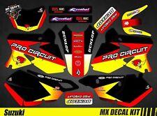 Kit Déco Moto / Mx Decal Kit Suzuki DR-Z 400 - Pro Circuit