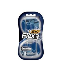 BIC Flex 3 Men's 3 Blade, Disposable Razor, 4-Count  **Free Shipping**