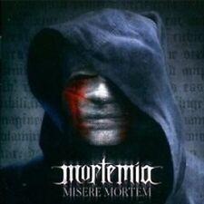 """MORTEMIA """"MISERE MORTEM"""" CD GOTHIC METAL NEU"""