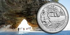 2018 P&D Apostle Islands National Lakeshore Park Quarter Wisconsin U.S.Mint Coin