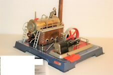 GOOD WORKING vintage Wilesco, Western Germany - Steam engine Wilesco D18 ????
