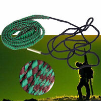 Green Bore Snake Rope 22 Cal 5.56mm 223 Caliber Gun Cleaning Cord Kit Clean Rope