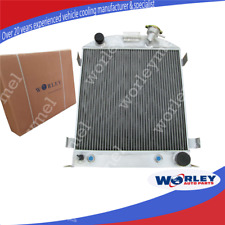 3row alloy KÜHLER WASSERKÜHLER Radiator for FORD 1932 HI-BOY CHEVY ENGINE HOTROD