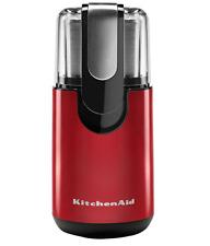 KitchenAid Blade Coffee Grinder Machine 4-Oz. Stainless Steel Grind Bowl, Red