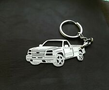 Chevrolet silverado, custom keychain by your picture, custom gift,christmas gift