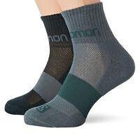 Salomon Unisex Evasion 2 Pack Socks PN: C11265