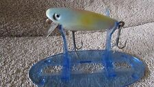 """Vintage Shakespeare Glo-Lite Pup Fishing Lure-2 1/2""""-Blue/Pink Yellow   (N 1)"""