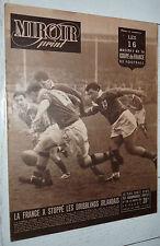 MIROIR SPRINT N°139 1949 FOOTBALL RENNES SOCHAUX BORDEAUX RUGBY IRLANDE-FRANCE