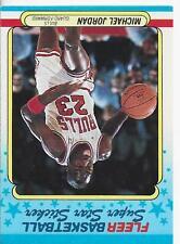 Michael Jordan 1988 Fleer Sticker Card