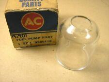 1929 1936 Chevy All exc D, P NOS Glass Fuel Pump Bowl, 5590156