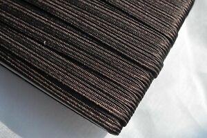 6mm Japanese silk tsuka-ito, dark grey-blue