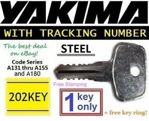 1 YAKIMA Replacement Key SKS Lock Ski Roof Rack Bicycle Cargo Carrier Surf Kayak