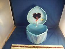 "Disney Spinning Little Mermaid ""Under The Sea"" Jewelry Music Box"