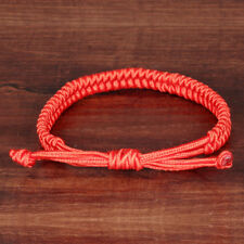 Chinese Red Rope Bracelets Lucky Chain Women Men Jewelry Handmade Double Layer