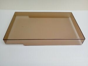 Dust cover for some vintage amplified Philips turntable, 424-254-55 mm