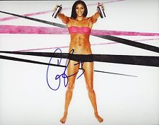 "~ Candice Parker Authentic Hand-Signed ""Sparks Espn Body"" 8x10 photo ~"