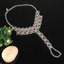 Silver Adjustable Anklets Ankle Bracelet Jewelry Chain Foot Ankle Bracelet