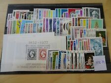 Luxemburg Jahrgang 1975-1979 postfrisch komplett (11936)