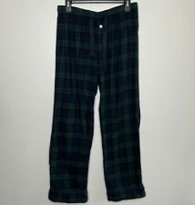 J CREW Black Watch Tartan Plaid Flannel Pajama Pants EUC Drawstring Womens Small
