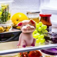 THE DIET PIG DIET AID PIGGY WITH LIGHT SENSOR SOUND GRUNTS AT YOU FRIDGE ALERT