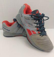 Babolat Orange Navy Gray Men's Sz 8.5 Sfx Tennis Shoes Sneakers - Fast Shipping!