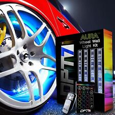 OPT7 All-Colour Wheel Well LED Light Kit 4pc Custom Accent Neon Strips Rim Tire