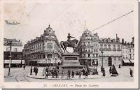 CPA 45 - ORLEANS - Place du Martroi