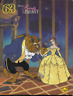 """Vintage Disney Beauty and the Beast  63 piece 12"""" x 15"""" jigsaw puzzle Golden"""