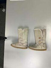 Women's Beige UGG Boots Size 10