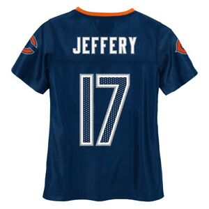 Alshon Jeffery NFL Chicago Bears Mid Tier Fashion Jersey Girls Youth (7-16)
