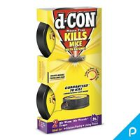 d-CON No View, No Touch Covered Mouse Trap, 2 Traps (Pack of 3)