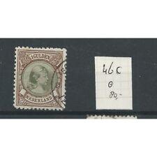 Nederland 46C Wilhelmina 1891   VFU/gebr  CV 80 €