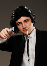 Mens Pulp Fiction Vincent Style Fancy Dress Cult Movie Accessory Kit with Wig