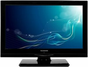 "Techwood 12v 16"" HD Ready LED TV & DVD Combi media player Caravan/Motorhome/Boat"