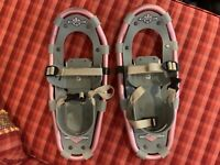 LL Bean Winter Walker 16 Snow Shoes Kids Youth Pink - Very Lightly Used