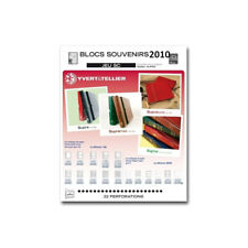 Jeux SC France blocs souvenirs 2010 avec pochettes de protection.