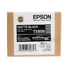 Cartouche Epson T5808 (noir mat)