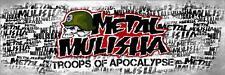 METAL MULISHA DECAL PAIR #16  Sticker, Truck Trailer Moto Car Window Wall Art