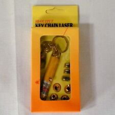 10 PC LASER POINTER 5 TIP novelties lazer key chain toy