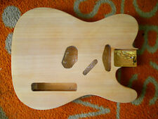TELE  STYLE ELECTRIC GUITAR BODY (UNFINISHED)