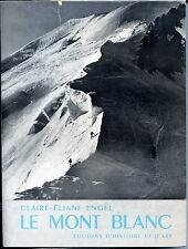 LE MONT BLANC - Claire-Eliane Engel 1965