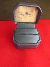 Jewellery display box Fletcher`s jewellers  ring display jewellery box