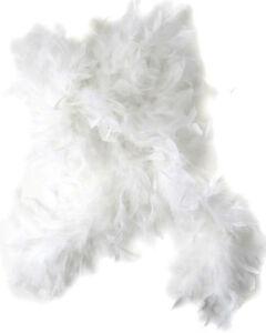 "72"" White Feather Boa Great Flapper Costume Accessory"