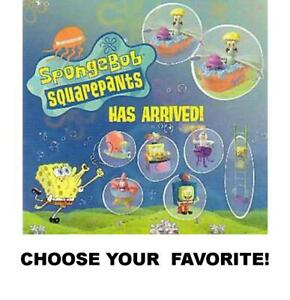 Burger King 2001 Nickelodeon SpongeBob SquarePants Toys-Pick Your Favorite!