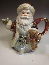 "Bella Casa Christmas Santa Claus 8 1/2"" Tea Pot"