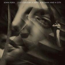 JOHN FOXX - 21ST CENTURY: A MAN,A WOMAN AND A   CD+DVD NEW+